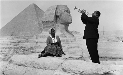 12 Rare Photos of Iconic International Celebrities Visiting Egypt