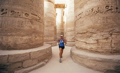 11 Stunning Photos from Australian Environmentalist Mina Guli's Run Along the Nile in Egypt