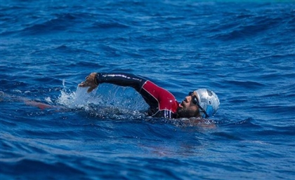Egyptian Amputee Man to Swim from Jordan's Aqaba to Egypt's Taba This Friday