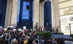 Cairo Rally Condemning Charlie Hebdo Attacks
