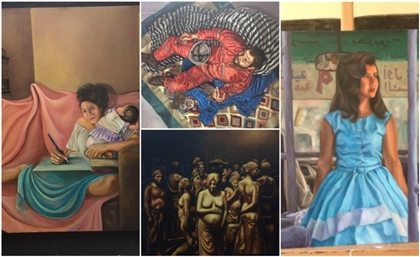 11 Stunning Paintings By The 2017 Graduates of Helwan University's Fine Arts Faculty in Zamalek