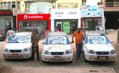 A look inside Cairo's White Taxi Revolution