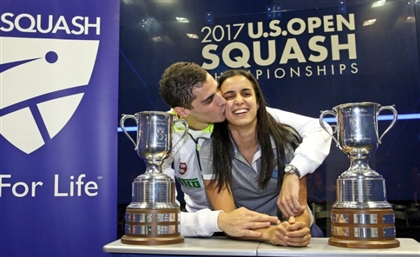 Egyptian Couple Become First in History to Enter Squash Finals