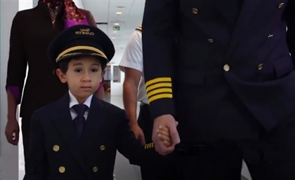 Video: 6-Year-Old Moroccan-Egyptian Boy Becomes the World's Youngest Pilot Ever