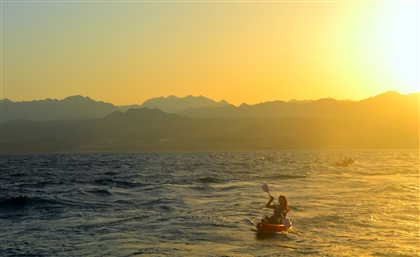 This Egyptian Woman Is Leading a Team of Kayakers across the Red Sea from Sinai to Jordan