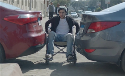 Ahmed Malek and Menna Shalaby Star in Video Campaign to Make Egypt's Streets Disability-Friendly