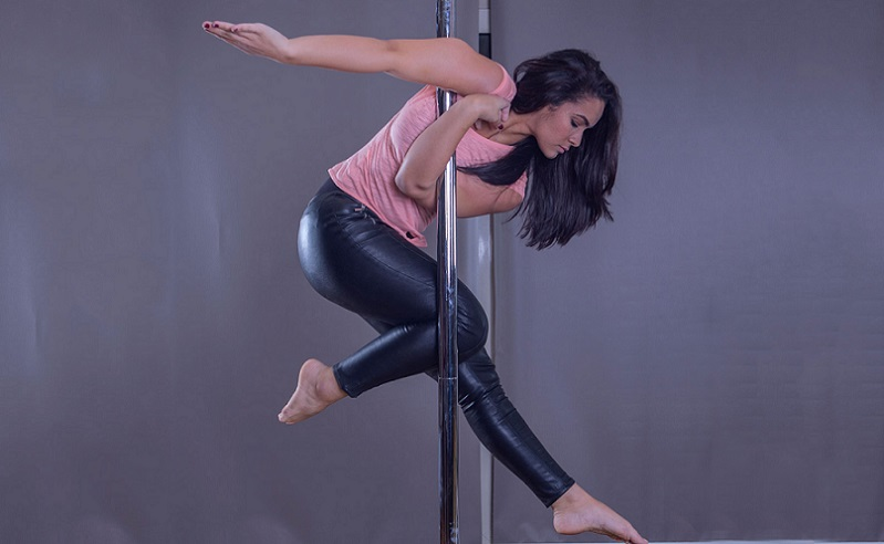 Pole Dancing at Brass Monkeys Studios