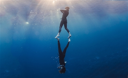 Meet the Female Freediver Breaking National Records in Egypt