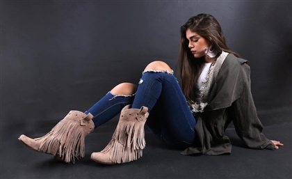 The Egyptian Boot Brand Mixing Frills and Fur for our Pleasure