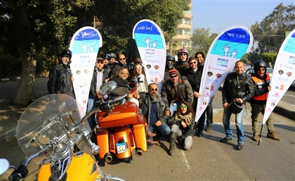 Egyptian Olympics Committee, Harley Davidson, Novartis and More Team-Up for World Cancer Day