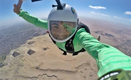 Fly Over The Pyramids At Egypt's First Ever Air Sports Festival
