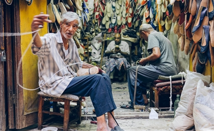 Meet the British Photographer Who Captured Darb Al Ahmar's Forgotten Craftsmen