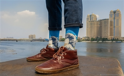 New Egyptian Designer Sock Brand Will Put Some Art in Your Step