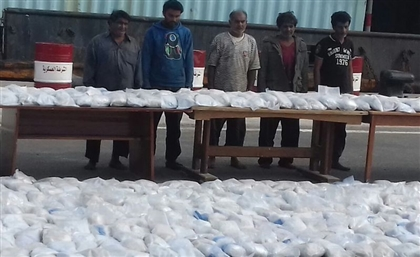Egyptian Navy Confiscates EGP 10 Billion Shipment of Heroin