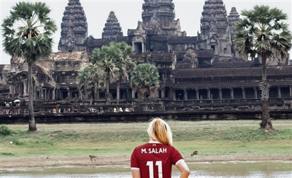 Meet The American Globetrotter Travelling The World in a Mo Salah Jersey