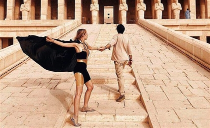 Kojak and Temraza Primped Up #FollowMeTo's Nataly Osman for Her Luxor and Aswan Tour