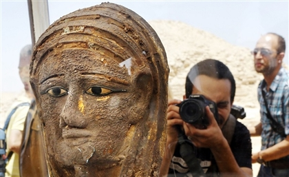 Ancient Egyptian Mummification Workshop Unearthed in Saqqara