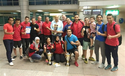 Egypt Breaks Kung Fu Medal Record in Junior Wushu Championships