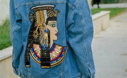 This Egyptian Designer Customises Denim Jackets to Suit Your Personality