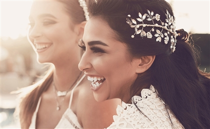 This Egyptian Brand Adds Whimsy to your Wedding with Exquisite Handcrafted Headpieces