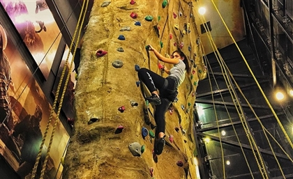 New Cairo Now Has its Very Own Indoor Rock-Climbing Wall