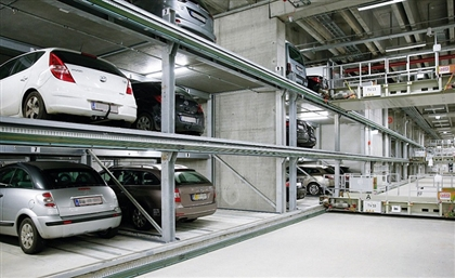 The Middle East's First Hydraulic Car Parking System is Launching in Egypt