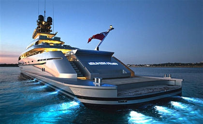 The World's Largest and Fastest Yacht Has Just Arrived in Hurghada