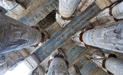 10 Stunning Photos of the Temple of Hathor in Upper Egypt