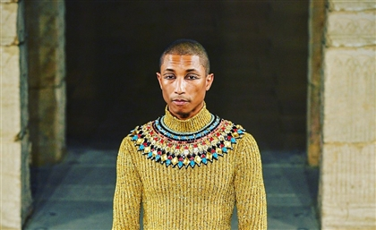 8 Photos From the Ancient Egyptian Chanel Fashion Show That Has Pharrell Dressed Like Tut