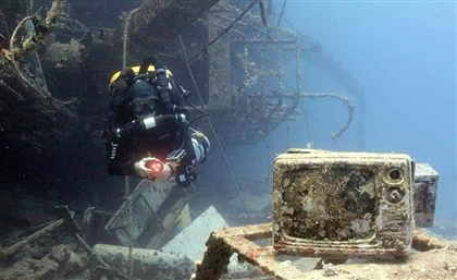 8 Chilling Photos of the Salem Express Ship Wreckage Off Egypt's Red Sea Coast