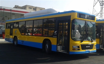 First Egyptian-Made Natural Gas-Fuelled Buses to Begin Operating in Cairo