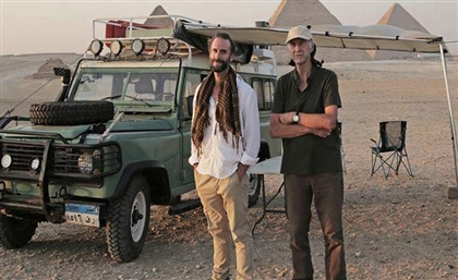 Legendary Explorer Sir Ranulph Fiennes and Actor Joseph Fiennes Team Up for New Egypt Show