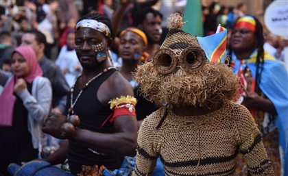 15 Photos From Islamic Cairo's Drums and Folkloric Arts Festival