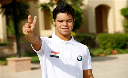 Egyptian Swimmer Becomes First UN Special-Needs Spokesperson from MENA