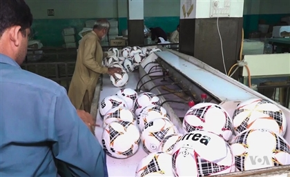 The Middle East's First Football Factory Just Opened in Egypt