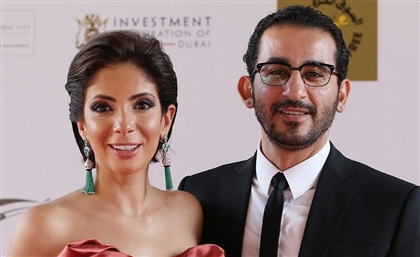 Power Couple Mona Zaki and Ahmed Helmy First Egyptians Honoured at Dubai Stars Walk of Fame