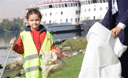 CleanShores Campaign and the Kids Cleaning Up the Nile
