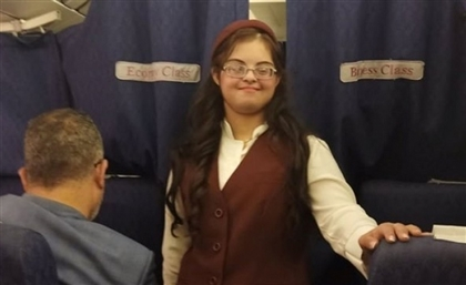 Heba Atef: The First Egyptian Flight Attendant with Down Syndrome