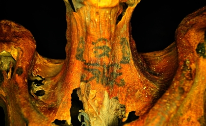 Tattooed Mummies Identified at Deir el-Medina Site