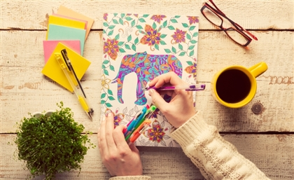 Colour Outside the Lines: De-Stress with These 7 Adult Colouring Books