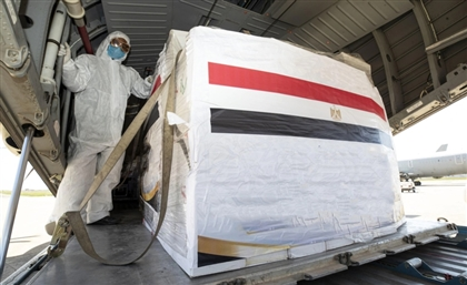 Egyptian Aircraft Full of Medical Aid Supplies is En Route to Washington D.C.