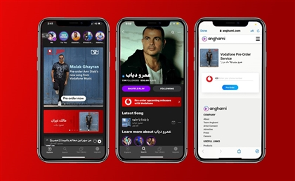 Anghami Partner Up With Vodafone To Bring You Exclusive Music Content