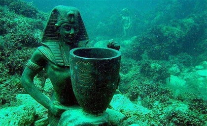 Egypt Sponsors Students' Graduation Project For an Undersea Robot to Explore Alex's Sunken Treasures