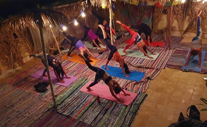 Natural Highs at Cairo's Coolest Yoga Space Roof Flow