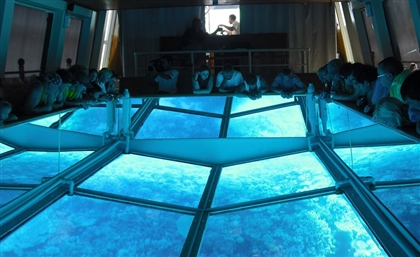 Hurghada Boat Breaks World Record for Largest Glass Floor