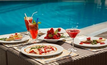 Mezaj Is the New Poolside Restaurant Putting You in the Right Mezaj