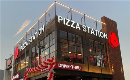 Pizza Station's Newly-Opened Branch Is Decked Out With a Drive-Thru