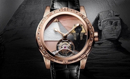 Louis Moinet Luxury Watch Celebrates Egypt's Most Celebrated Landmark