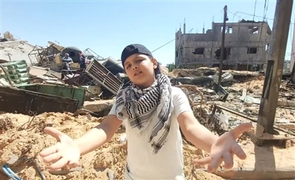 Amidst Gaza's Rubble, 12 Year-Old Rapper MC Abdul Speaks Out