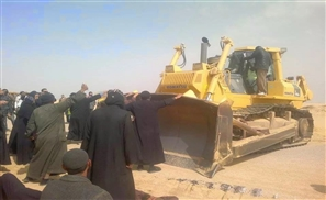 Coptic Monks Face Off with Bulldozers to Save Church